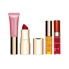 Clarins Dárková sada dekorativní kosmetiky na rty Beautiful Lip Collection