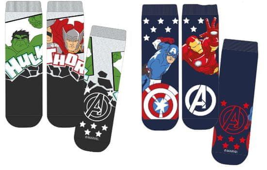 Mix 'n Match chlapecký set 2 párů ponožek 23 - 26 tmavě modrá