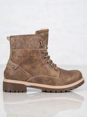 Dámske členkové topánky 59214