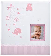 KPH Dětské fotoalbum Baby start růžové