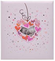 KPH Dětské fotoalbum Baby flower růžové