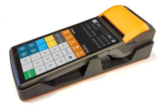 Sunmi V2 eet android dotyková pokladna s dokovací stanicí a 10 ks kotoučků, zvýhodněný set (ProfiPAD V2 set)
