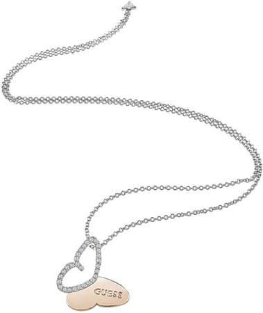 Guess Dolga ogrlica s kravato UBN83022