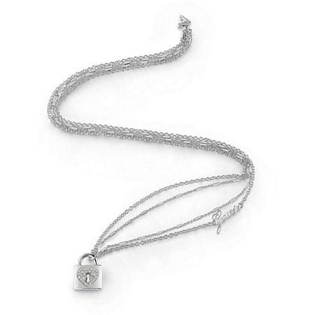 Guess Dolga ogrlica s ključavnico UBN85062