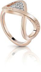 Guess Elegantný prsteň Endless Love UBR85005