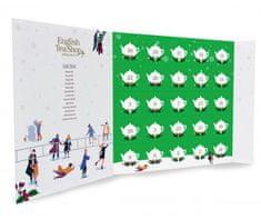 English Tea Shop Adventní kalendář Zelený, ETS25 pyramidek, 13 příchutí