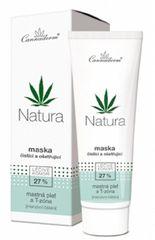 Cannaderm NATURA čisticí a ošetřující maska 75 g