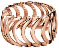 Calvin Klein Rožnato pozlačen jeklen prstan Body KJ2WPR1001