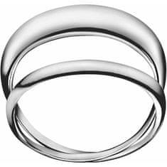 Calvin Klein Oceľový prsteň enlace KJ44AR0101