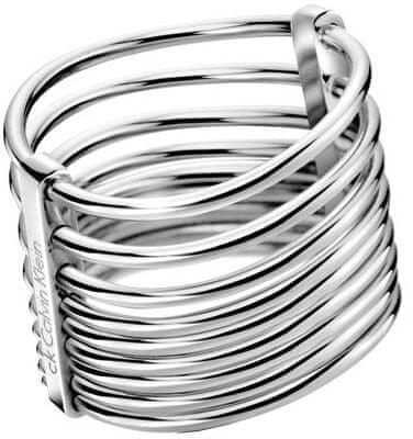 Calvin Klein Jekleni prstan FormKJ77AR0101 (Obseg 50 mm)