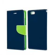 Havana Fancy Diary torbica za Samsung Galaxy A80 A805, preklopna, plavo-zelena