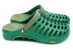 Pánské clogsy FLAMEshoes A-1003 zelené