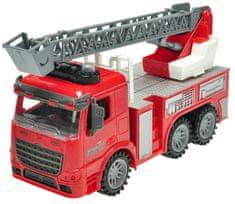 Mikro hračky Auto hasiči na zotrvačník 28 cm