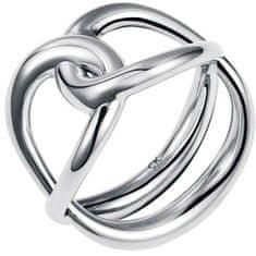 Calvin Klein Oceľový prsteň enlace KJ44BR0101