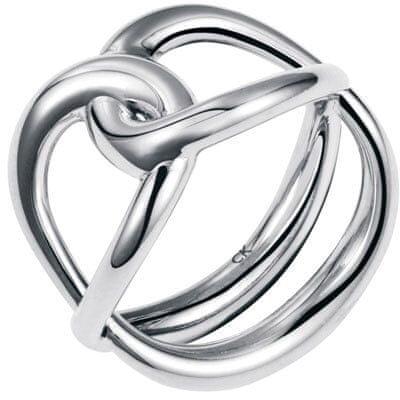 Calvin Klein Jekleni prstan Enlace KJ44BR0101 (Obseg 52 mm)