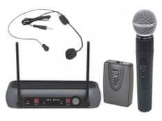 Blow PRM903 brezžični profesionalni komplet, ročni + naglavni mikrofon, do 50 m