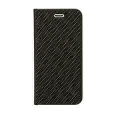 Havana Premium torbica za Samsung Galaxy A20e A202, preklopna, karbon, crna