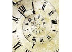 Dimex Fototapeta MS-3-0272 Špirálové hodiny 225 x 250 cm