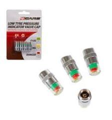 4Cars 4CARS Kryty ventilov s ukazovateľom tlaku