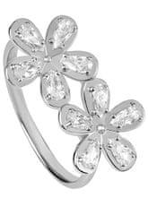 Silver Cat Lep srebrn prstan z cirkoni SC299 srebro 925/1000