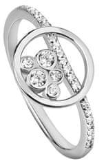 Silver Cat Srebrni prstan s prozornimi cirkoni SC315 srebro 925/1000