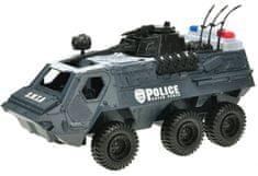 Mikro hračky Auto transportér policajné 32 cm