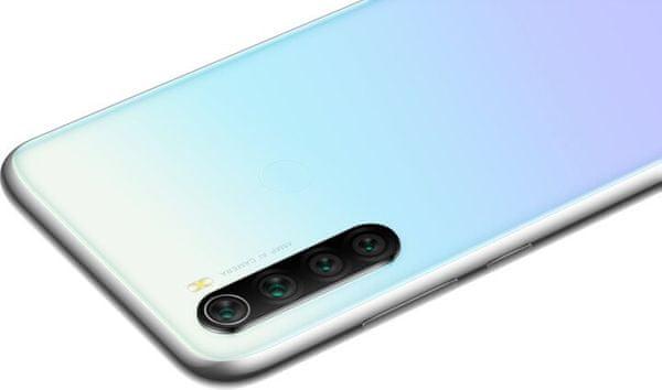 Xiaomi Redmi Note 8T, čtyřnásobný fotoaparát, 4 objektivy, vysoké rozlišení, ultraširokoúhlý, makro, bokeh efekt, hloubka ostrosti