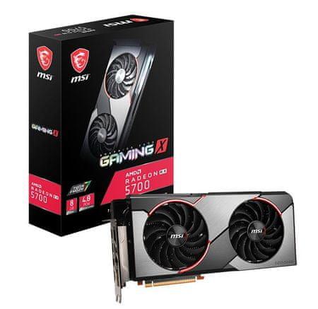 MSI Gaming X Radeon RX 5700, 8 GB GDDR6 grafična kartica