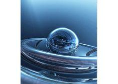 Dimex Fototapeta MS-3-0282 Modré sklenené gule 225 x 250 cm
