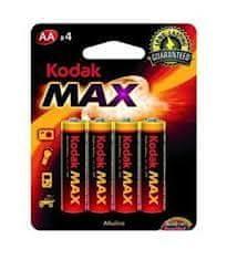 KODAK Alkaline Max LR6 AA BL4 Kodak