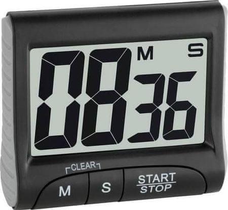 TFA 38.2021.01 elektronikus időzítő és stopper