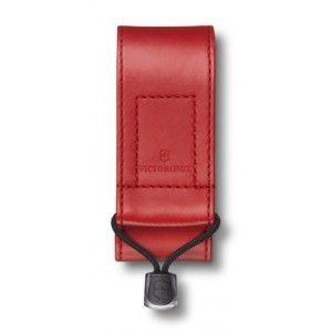 Victorinox 4.0480.1 szintetikus bőr tok, piros, svájci tisztek számára 91/93 mm kés, 2-4 réteg