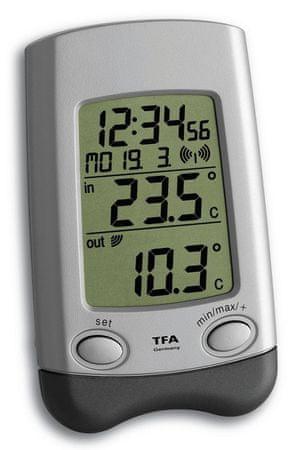 TFA 30.3016.54. IT WAVE vezeték nélküli hőmérő