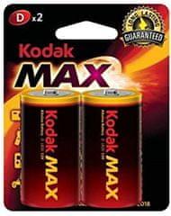 Kodak Alkaline Max LR20 D BL2