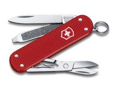 Victorinox 0.6221.L18 Nůž kapesní Classic Alox RED LE 2018 bobulové červená