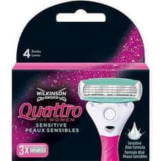 Wilkinson Sword 7001143E Quattro for Women Pink Blades 3 's