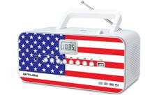 Muse M-28US přenosné rádio s CD přehrávačem a USB