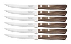 Tramontina 21198/915 TR Nůž steakový tmavý 6 ks