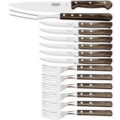 Tramontina 21199/989 TR Sztućce, nóż, widelec 14 szt