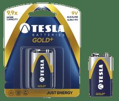 TESLA 1099137028 GOLD Alkaline baterie 9V (6LR61, 9V, blistr) 1 ks