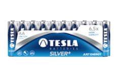 TESLA 1099137102 AA SILVER+ Alkaline, LR06, FOIL/10ks