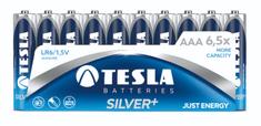 TESLA 1099137100 AAA SILVER + Alkaline, LR03, FOIL / 10ks
