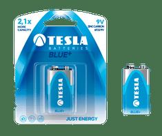 TESLA 1099137098 9V BLUE + Zinc carbon, 6F22, BLISTER / 1ks