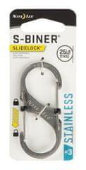 Nite Ize LSB3-11-R6 S-Biner® SlideLock® Stainless Steel #3 - Stainless