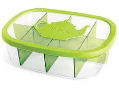 Snips 000232 Pojemnik do sortowania torebek herbacianych 3l zielony