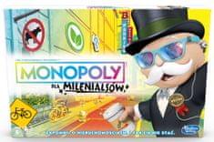 HASBRO gra Monopoly dla Milenialsów