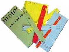 AHProfi Červené papírové visačky na klíče XL 500 ks - 434030084 | AHProfi