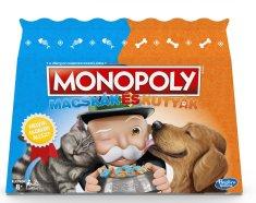 HASBRO Monopoly Macskák és kutyák