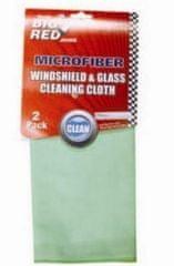 AHProfi Sada 2ks mikrovláknových utěrek na mytí oken a čelních skel BR0003-1 | AHProfi