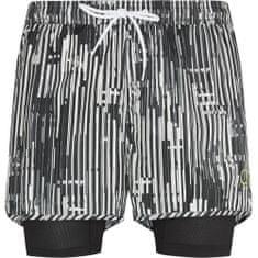 Calvin Klein Pánské kraťasy KM0KM00244-021 černobílá - Calvin Klein